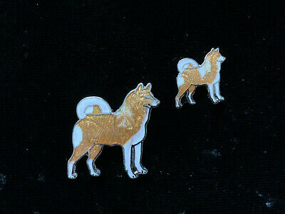 1980/'s Vintage Mafco Rottweiler Dog hat pin Large lapel