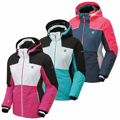 Dare2b Downscale Womens Waterproof Breathable Padded Insulated Ski Jacket size10