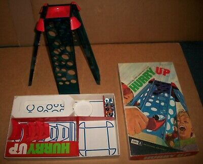The Parker Brothers Marble Race Game Hurry Up