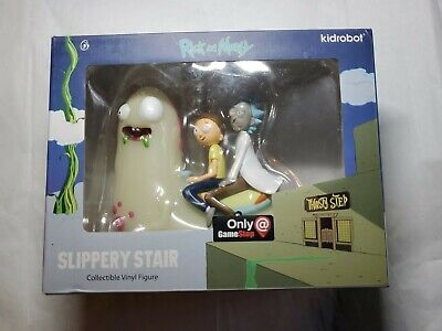 Kidrobot Rick And Morty Collectible Vinyl Art Hot Topic Exclusive Unopened Box
