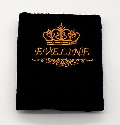 Bath Robes with Personalised name FANCY PRINCESS CROWN Embroidered onto Towels