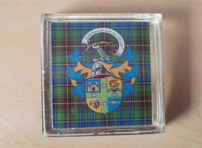 Scottish or Irish Ancestry clan Plaques