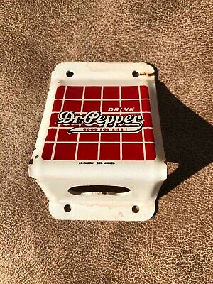 PLASTIC BOTTLE WALL HANGER WITH STICKY BACK FOR MOUNTING DR PEPPER