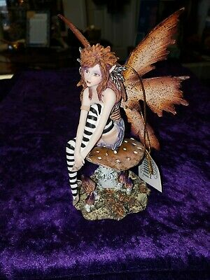 Pacific Giftware New 2013 Amy Brown Fantasy Periwinkle Flower Fairy Statue Enchanted 6 h Figurine