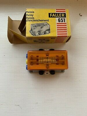 Faller Ams 651 Switching Relay in Original Box - Very good Condition, Boxed