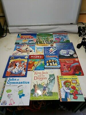 Story Time Assorted Bundle / Lot of 14 Story Books for Kids/Toddlers/Daycare MIX