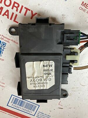2000 Buick Lesabre Passenger Right Front Door Window Module 25654366