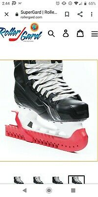 Rollergard Ice Skate Guard, Red - 2 sets included