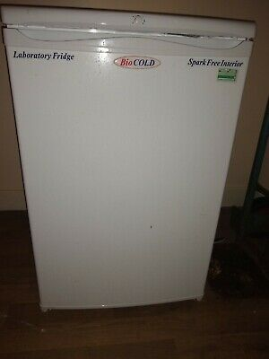 Bio cold single Door Undercounter Lab / Meds Fridge Refrigerator