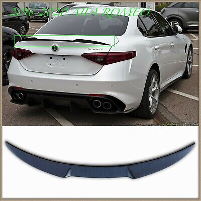 Fit For Alfa Romeo 4D Giulia 952 VQ Rear Trunk Spoiler Wing 2017-2020 Painted