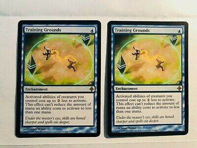 2 available LP 1x Training Grounds MTG Rise of the Eldrazi ROE
