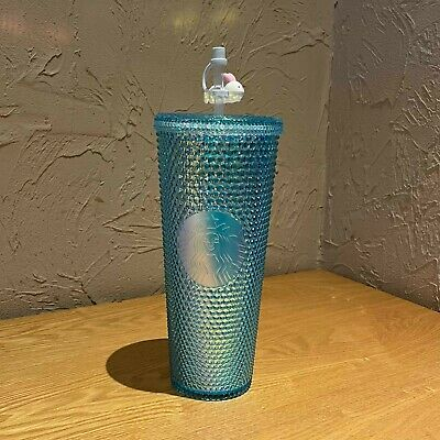 Starbucks Tumbler China Blue Mid-Autumn Festival studded 24oz Cold water cup