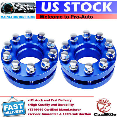 2x 20mm CNC Machined Forged Wheel Spacers 5x4.5/'/' for Tesla Model 3