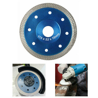 115mm Porcelaine tuile coupe Disque diamant roue lame perceuse angle Turbo scie