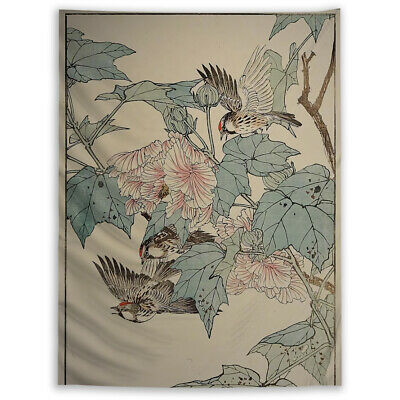 Details about  /Bird Animal Fantasy Tapestry Wall Hanging Mandala Bedspread Indian Poster