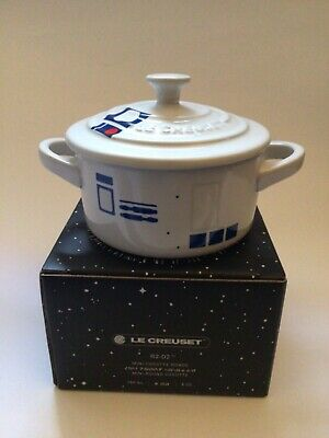 LE CREUSET × Star Wars Mini Cocotte Ronde Limited Edition R2D2 Brand New