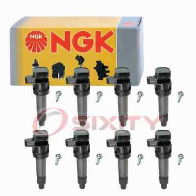 x8 Cadillac Ignition Coil Connector Boot Set GM 4.6L Coil On Plug Boot