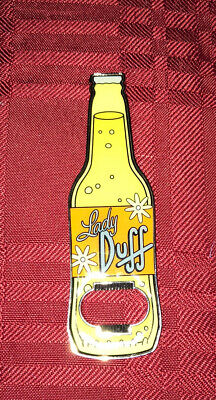 Universal Studios Exclusive The Simpsons Duff Man Beer Can Holder New