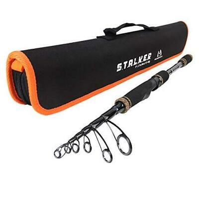 Free Delivery Sonik Dominator X Travel Spin 8ft 10-30g 4pc Rod *New*