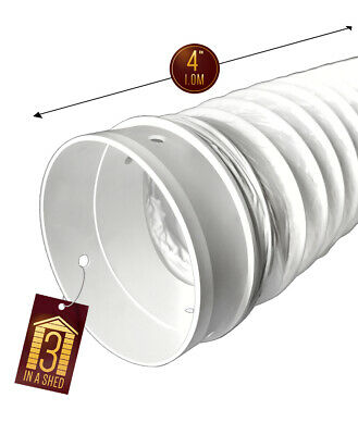 Tape for Tumble Dryer or Washer Dryer 4 Metre Vent Hose SPARES2GO Window Seal Kit