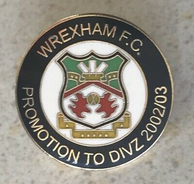 Rare Old Wrexham Welsh Football Club Metal Stick Pin Badge 3 75 Picclick Uk