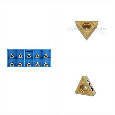 SDGW 32 ADN Mc5 C6 Coated Carbide Inserts SDGW 0903ADN 10pc New World Products