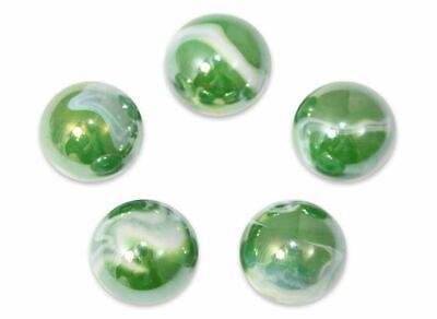 Pack of 5 wStands 78-Inch Van Gogh Marble 22mm Shooters