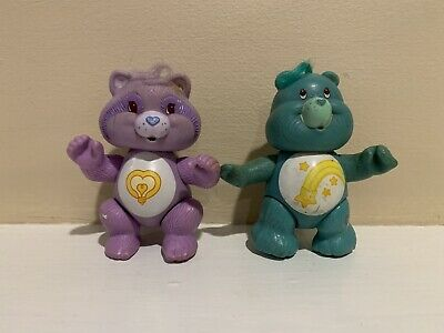 3 New old stock Care Bears wind up watches from 1980/'s  Never used Lot of