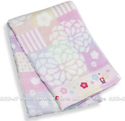 IMABARI Towel 5 pieces set Shirring White Japanese Face Towel about 34 x 80cm