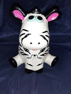 FAB Imported Ceramic Piggy Bank Cow