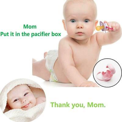 UK/_ EY/_ Portable Infants Pacifier Storage Box Nipple Soother Dummy Case Holder M