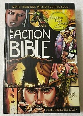 The Action Bible: God's Redemptive Story. Artist Sergio Cariello