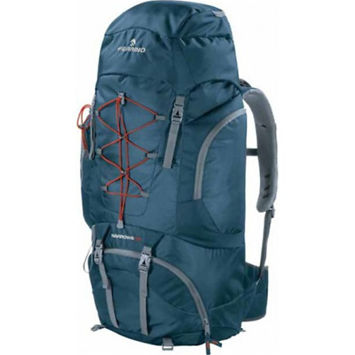 Details about  /Ferrino Chilkoot trekking backpack 75 liter Blue ebb scout mountain hiking show original title