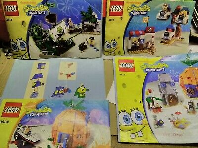 LEGO INSTRUCTION BOOKS ONLY Manuals system town police 6545 6668 6669 6664 10//06