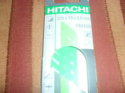 HITACHI Reciprocating Saw Blade for Metal 225mm x 19mm x 0.9mm (RM42B) new