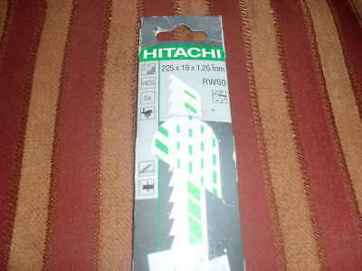HITACHI Reciprocating Saw Blade for wood  225mm x 19mm x 1,25mm (RW60) new