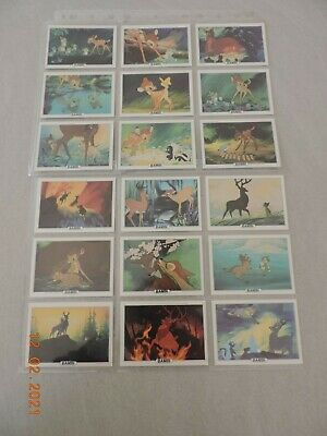 Treat Hobby Disney Trading Card complete set