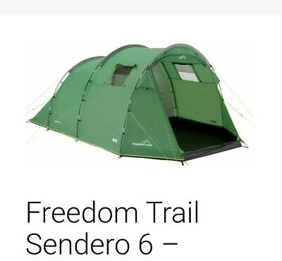 Freedom Trail Lombok 350 Grey Coded Replacement Fibreglass Front Rear Tent Pole Run