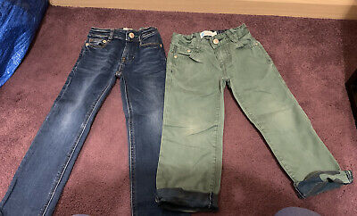 Two Pairs Boys Boden Jeans 3 Years