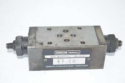 Parker Denison Hydraulics Zrd-Aba01S0D1 098-91014 Throttle Valve W/ Check Meter