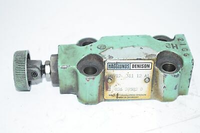 Parker Denison R5V12-311-12-A1 026-20582-0 Hydraulic Selector Relief Valve