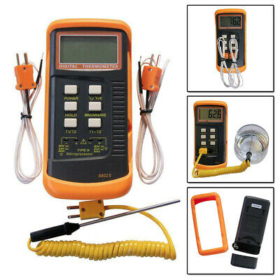 Type J Thermocouple 4 Sensor Temperature Controller Control Probe 752F with Spring