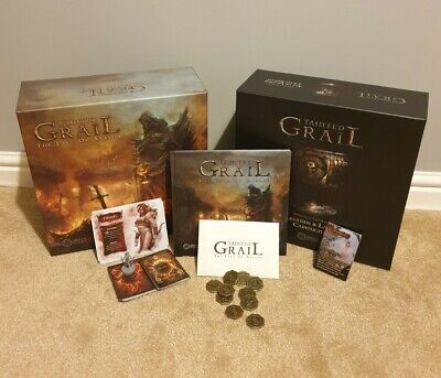 Sealed Box Tainted Grail Fall of Avalon board game KICKSTARTER /& stretch goals