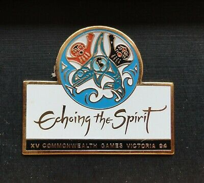 Pacific Northwest Orca Killer Whale Pin First Nations Artist Susan Point Design