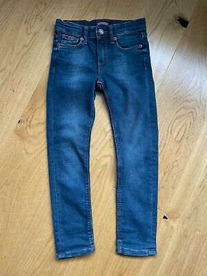 Boys Tommy Hilfiger Blue Slim Fit Jeans Age 8-9 (128) *excellent condition*