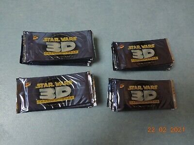 Topps 3Di Widevision Star Wars Trading Cards Factory Sealed 48 PACKS