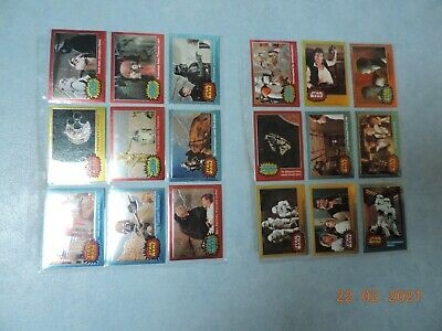 Star Wars Chrome Archives Set Of 90 Cards