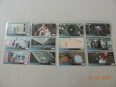 Topps Star Wars Widevision Collector Cards. Full Set Of 120 Cards - 1994