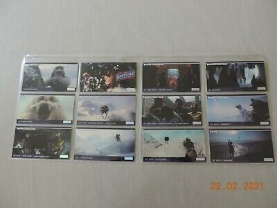Star Wars Empire Strikes Back Widevision 1995 Topps Base Card Set Of 144
