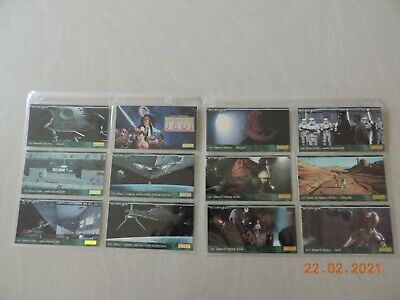 1995 Topps Star Wars Return of the Jedi WideVision Complete Base Set 144 Cards